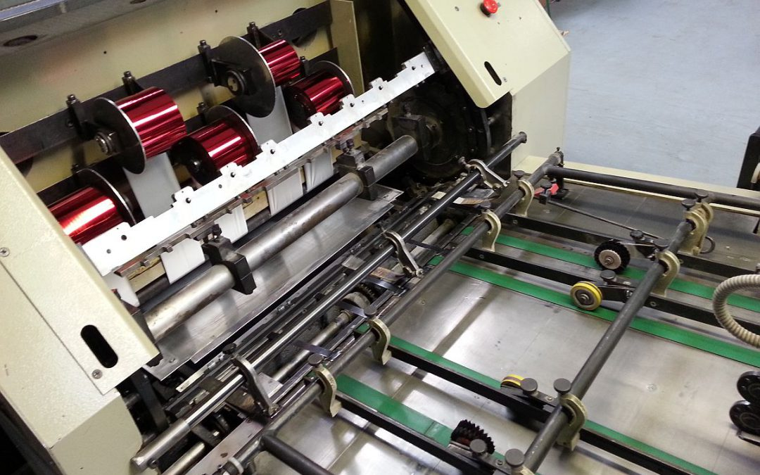 Foil Stamping and Die Cutting Automat Starfoil 780 (Identical like Gietz)