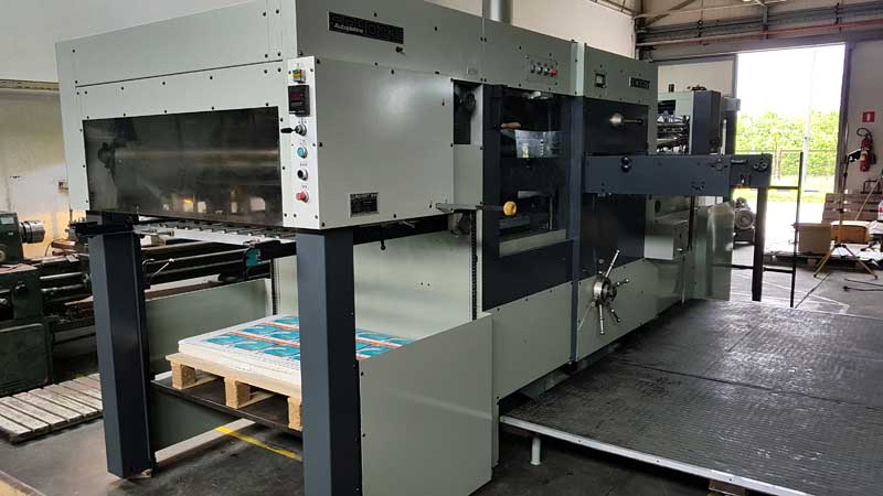 Automatic die-cutter Bobst SP102E