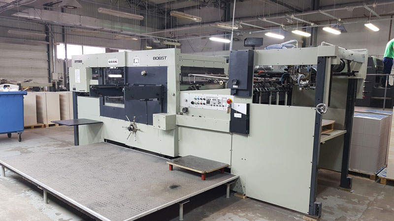 Automatic Die Cutter Bobst SP102E