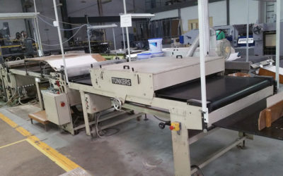 Sheet to sheet laminator TUNKERS Vorwaerts S