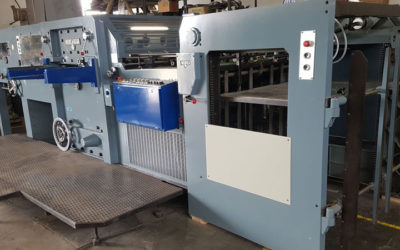 Automatic die-cutter Iberica DG60 age 1977