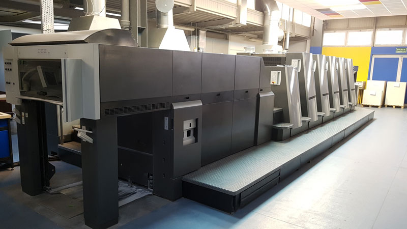 Heidelberg CD 74-5 LX C LED UV