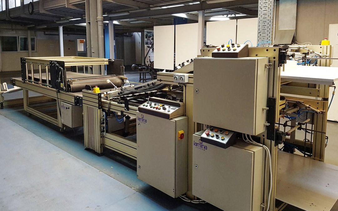 Automatic Sheet-to-Sheet laminator LAMINA