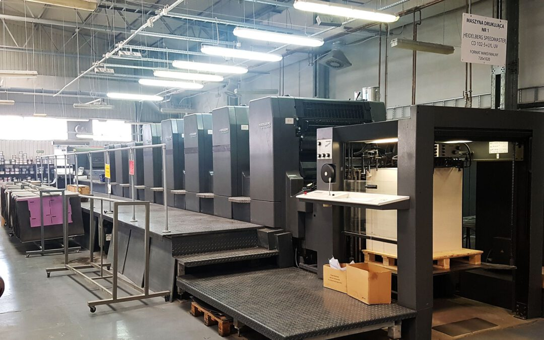 Heidelberg CD 102-5 + LYL (UV)