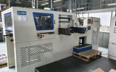 Automatic hot-stamping and die-cutting machine YAWA TYM 790 age 2007