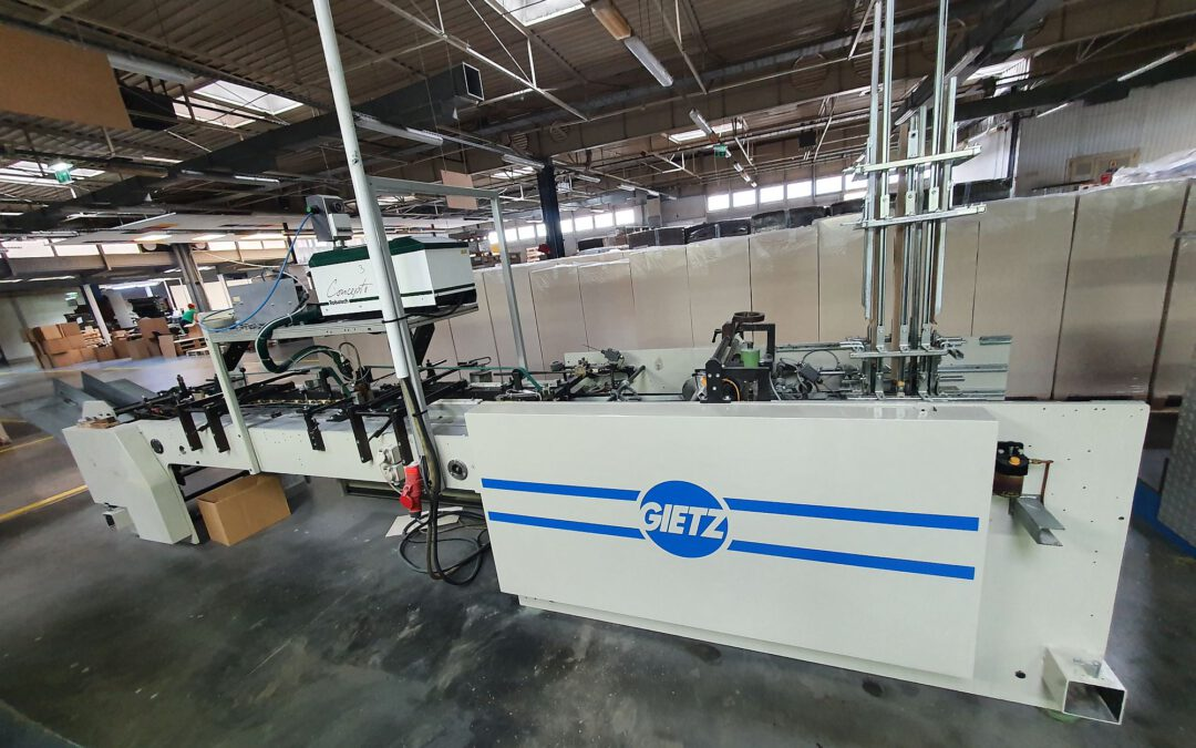 Conical tray forming machine Gietz KK